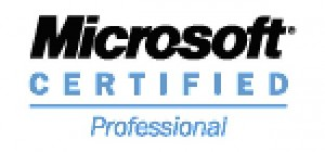 Microsoft Certified Professional logo
